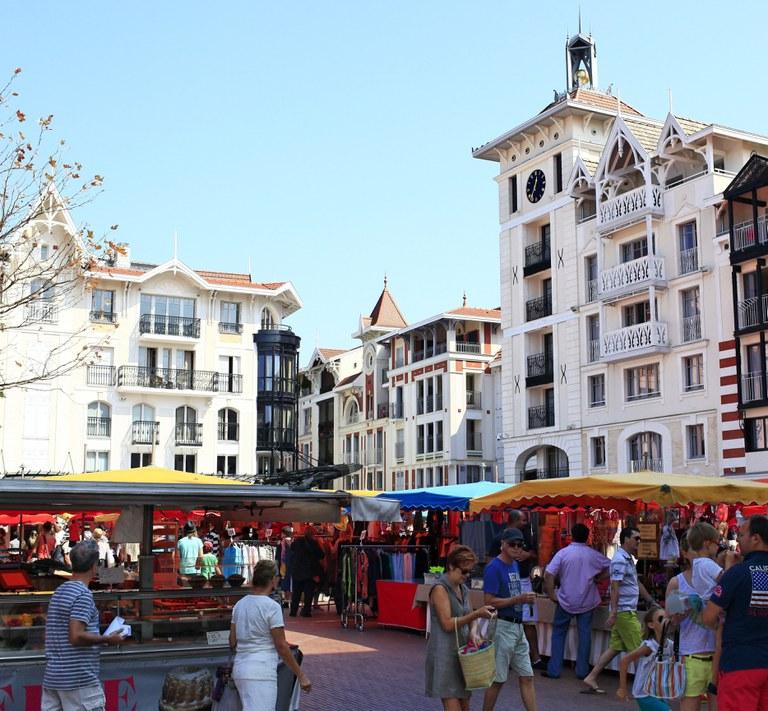Place des marquises - Arcachon